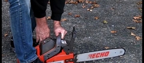 Interview with a Chainsaw.